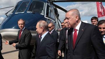 Erdoğan ve Putin'in helikopter pazarlığı