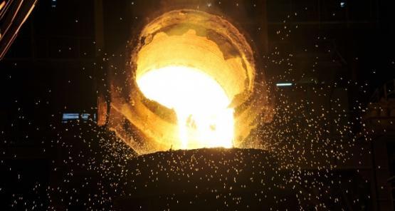 İsdemir 100 milyon ton sıvı ham demir üretimine ulaştı