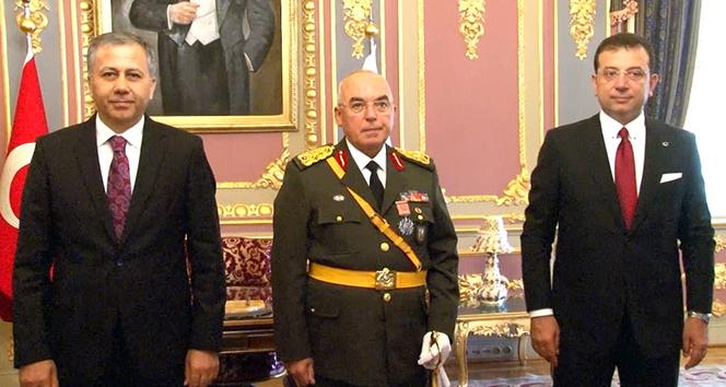 İstanbul Valiliğinde 30 Ağustos töreni