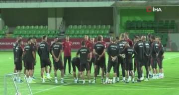 A Milli Futbol Takımı, Moldova maçına hazır