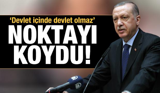 Cumhurbaşkanı Erdoğan'dan koronavirüs ile mücadele kapsamında açıklamalar