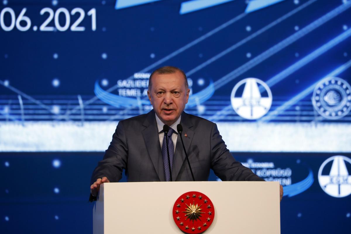 Kanal İstanbul'da ilk adım atıldı… Cumhurbaşkanı Erdoğan'dan önemli açıklamalar